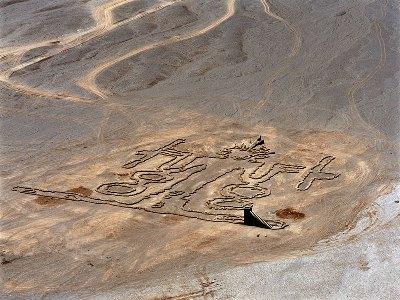 Los Ancestros. Andrew Rogers. Desierto de Atacama, Chile.